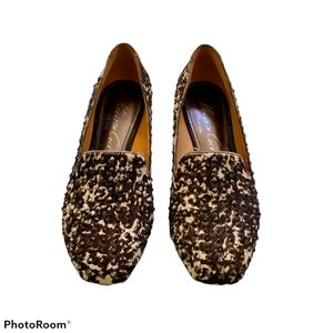 Kenneth Cole Hard Time studded flats Size 5.5